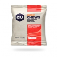 Energy chews strawberry naturally flavored